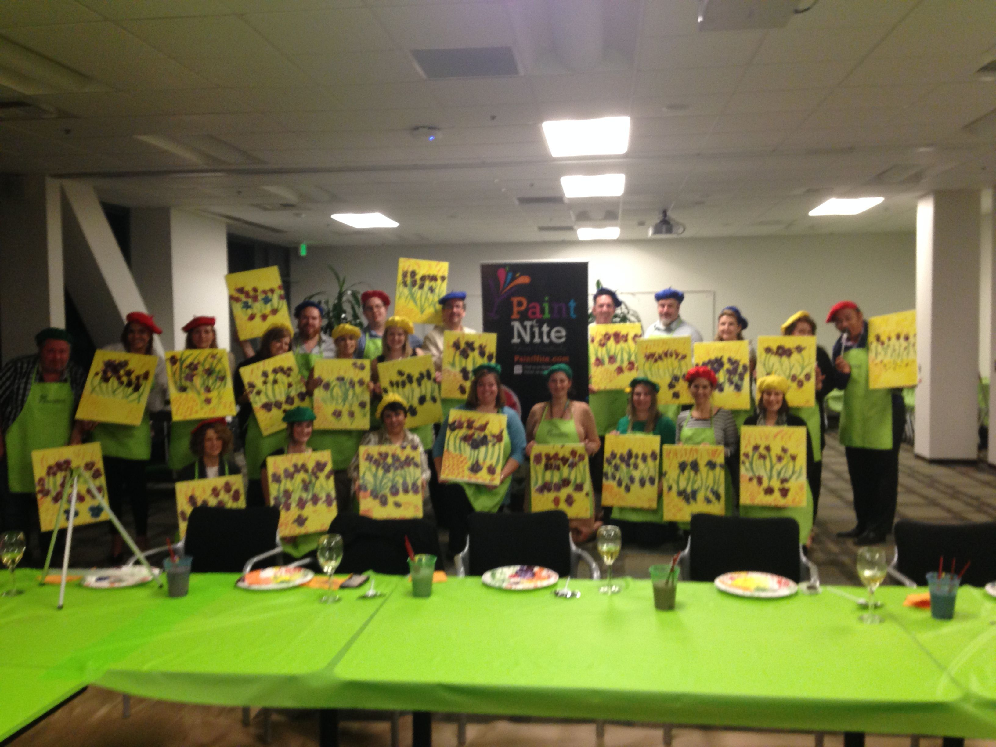2014 Event Team Summit. Paint Party Night, French Theme