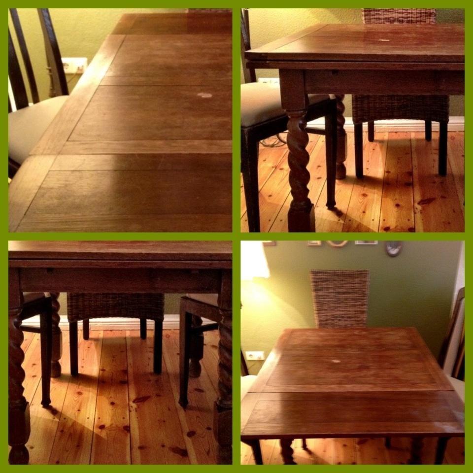 antik kirschholz tisch vb sch ner und praktischer. Black Bedroom Furniture Sets. Home Design Ideas