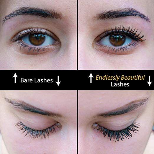 a24976b758e All Natural Organic Mascara | Black | Vegan & Cruelty Free | For Lash Growth,  Lengthening and Volume | Best Gluten Free Eyelash Conditioning Eye Makeup  ...