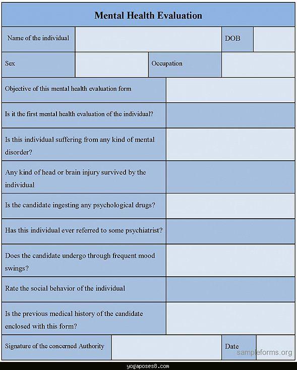 Pin On Mental Health Assessment