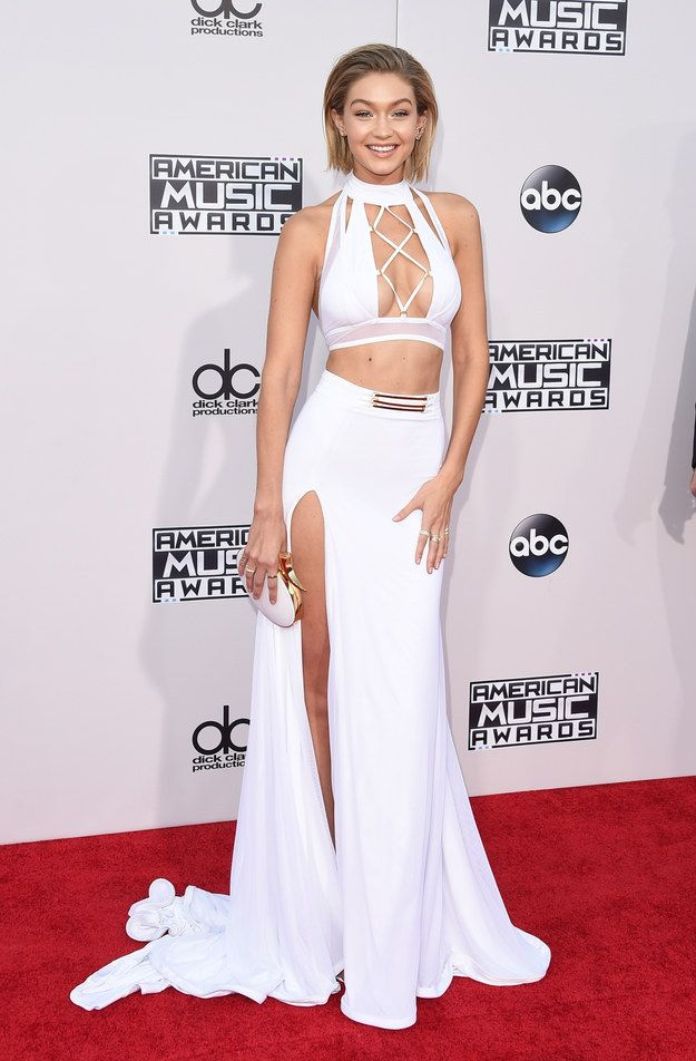 Gigi Hadid | Here's What The Stars Wore To The 2015 AMAs