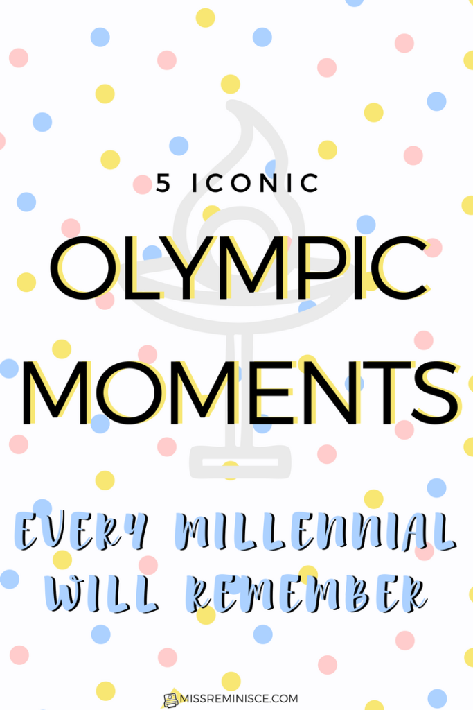 Relive the best Olympic Moments from the 80s and 90s that every Millennial will remember!