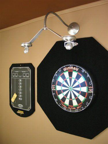 amazon com cordless led dartboard light dart equipment sports