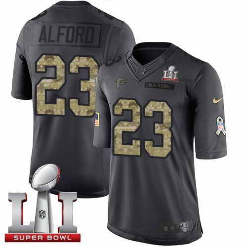 nike mens falcons 23 robert alford black super bowl li 51 stitched nfl limited 2017 jerseys dallas c