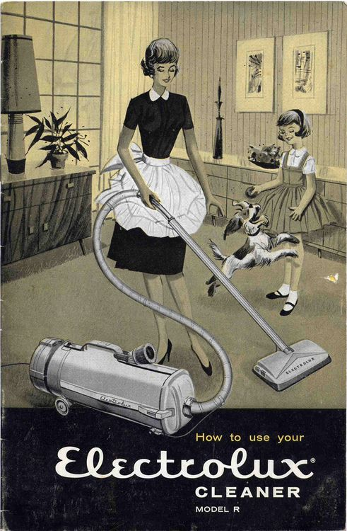 You Might Like This Photo Vintage Vacuum Cleaner Electrolux Retro Housewife