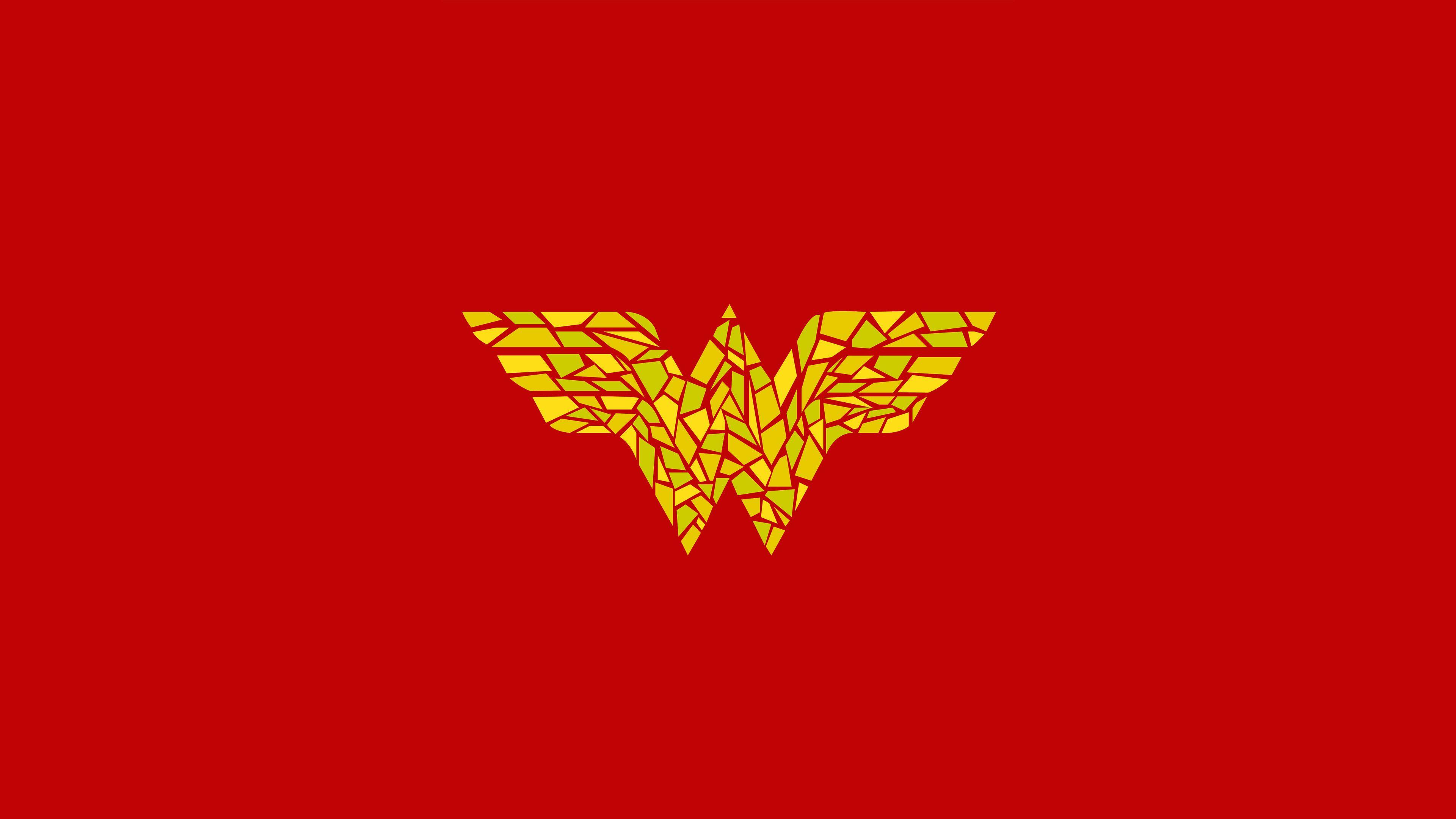 Wallpaper 4k Wonder Woman Logo Artwork 4kwallpapers, 5k