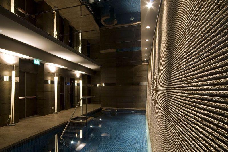 PORTFOLIO STUDIO SIMONETTI: SPA@Bentley Hotel, Genova (credits Saverio Lombardi Vallauri) architectural project of interiors, #spabentleyhotelgenova #meliagenova #hotel5stellelusso #progettoalberghiero #SPA