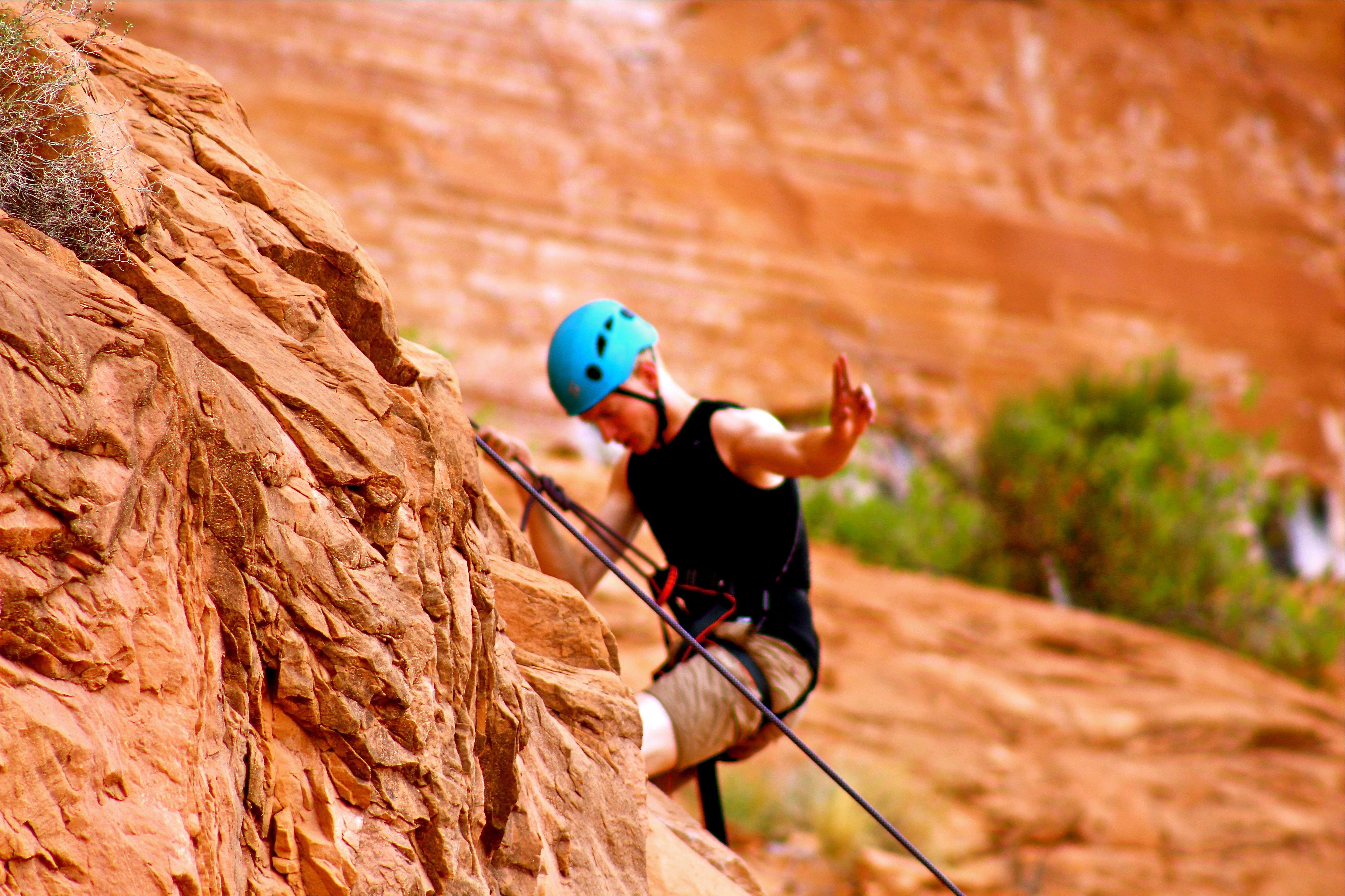 Utah Adventures, Rock Climbing