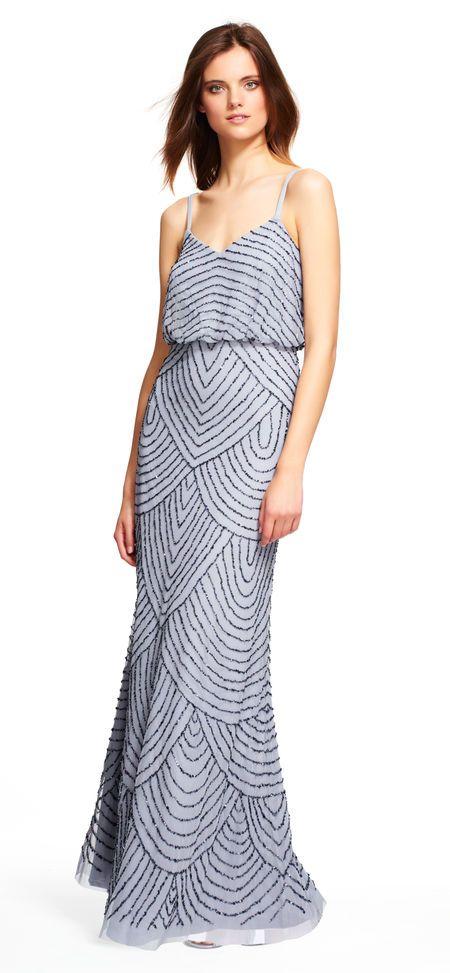 Art deco blouson beaded gown   Glamorous Gowns & Dresses   Pinterest ...