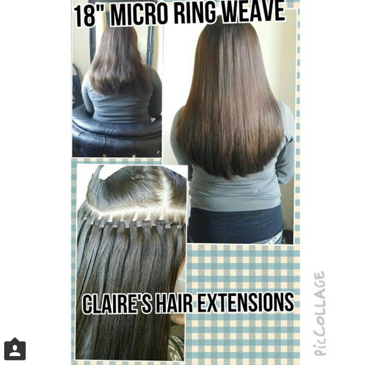 Micro Ring Weft Fitted By Claires Hair Extensions Tanning