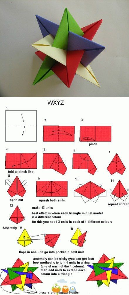 Origami Star By Stranger In Strange Land Crafts Pinterest