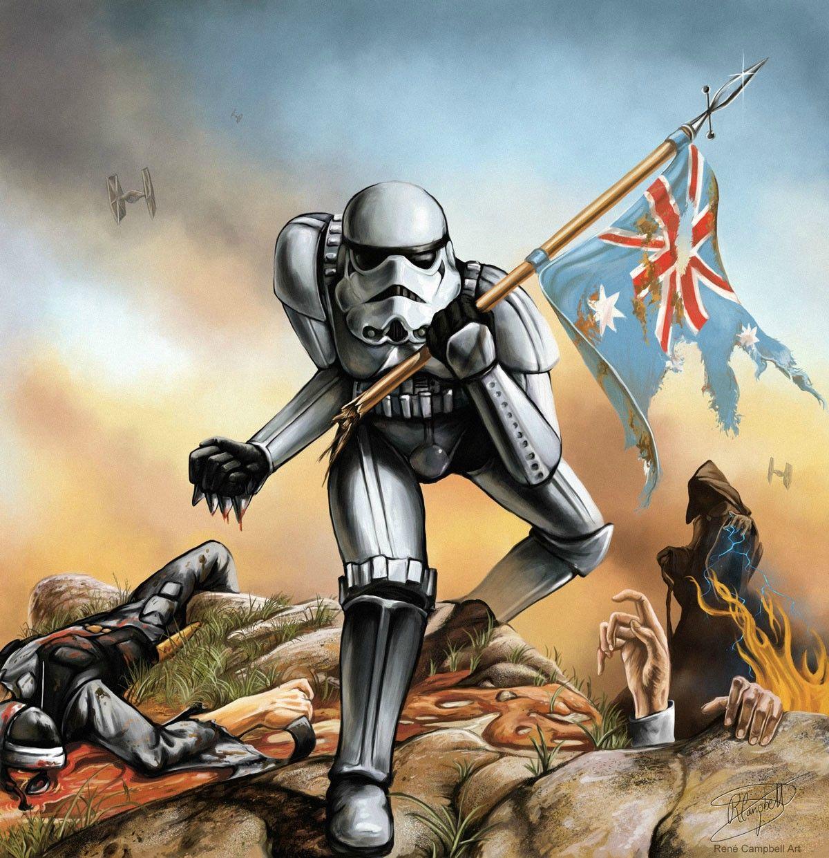 Iron Trooper Iron Maiden Star Wars Mashup Drawn For A Commission R Idap Star Wars Humor Iron Maiden The Trooper Iron Maiden