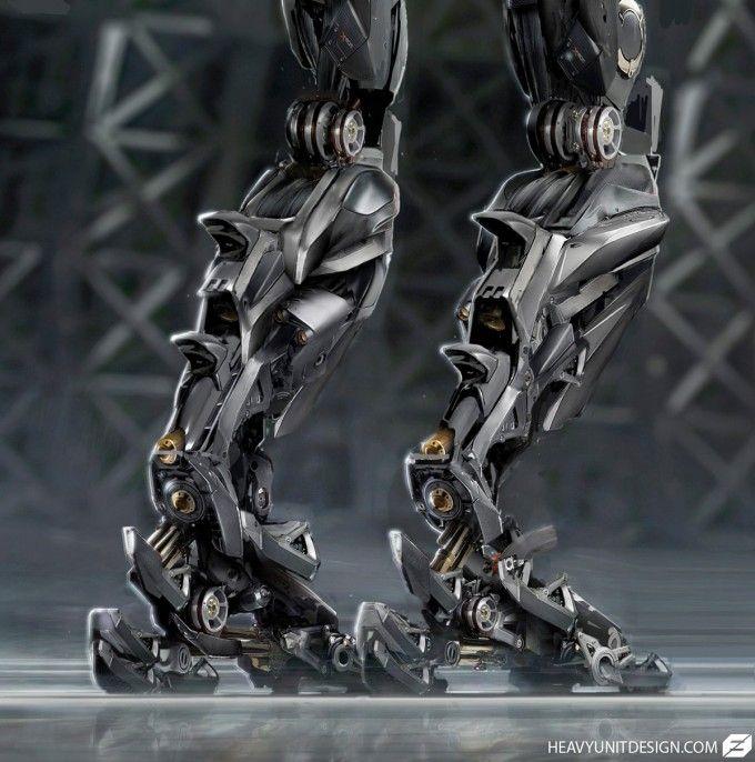 Robots, Cyborgs, Mechs & Battle Suits