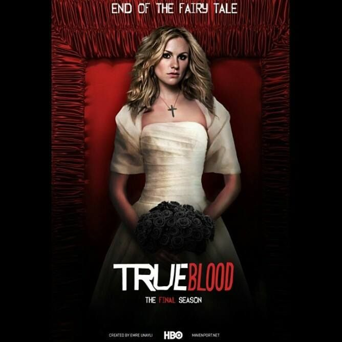 Sookie Not Real Promo For S7 But Really Good True Blood