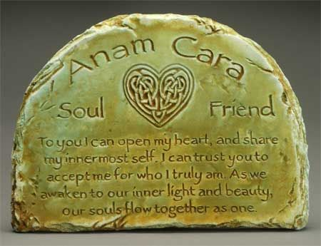 Anam Cara  This would be an awesome oathing stone for a celtic wedding. LovingUnity.com