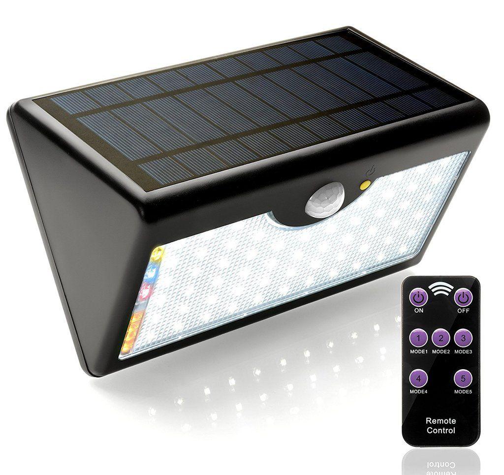 Luces De Jardin Con Panel Solar Led Para Exteriores Luces De Sensor De Movimiento Pir Focos Bombillas Para Lam Solar Lights Outdoor Solar Waterproof Outdoor