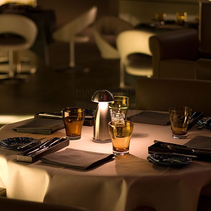 Neoz Owl LED Cordless Table Lamp Perfect For Ambient Lighting For Romantic  Dining Experience