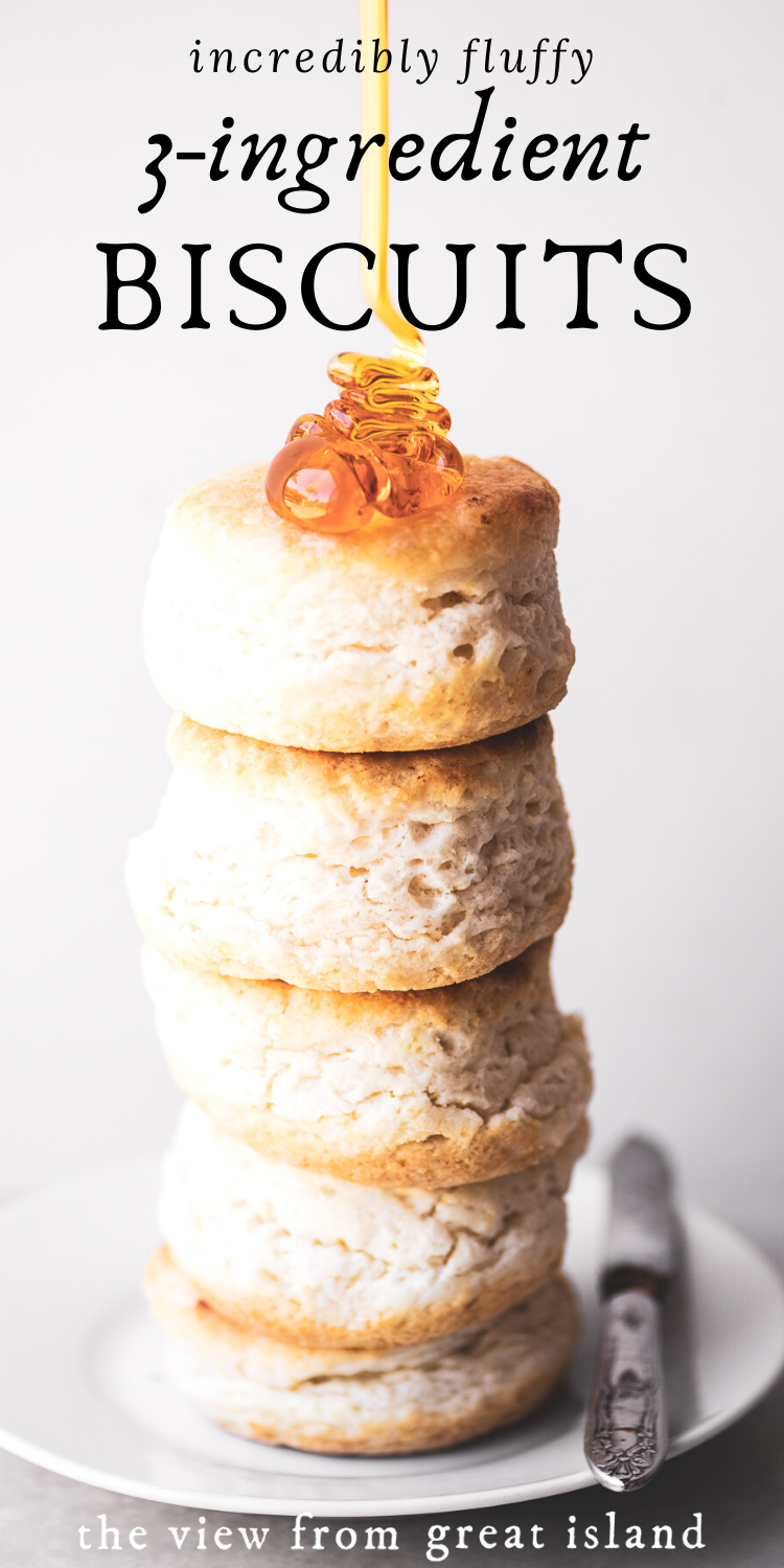 3 Ingredient Biscuits That Will Change Your Life In 2020 Easy Biscuit Recipe Food Processor Recipes Homemade Biscuits