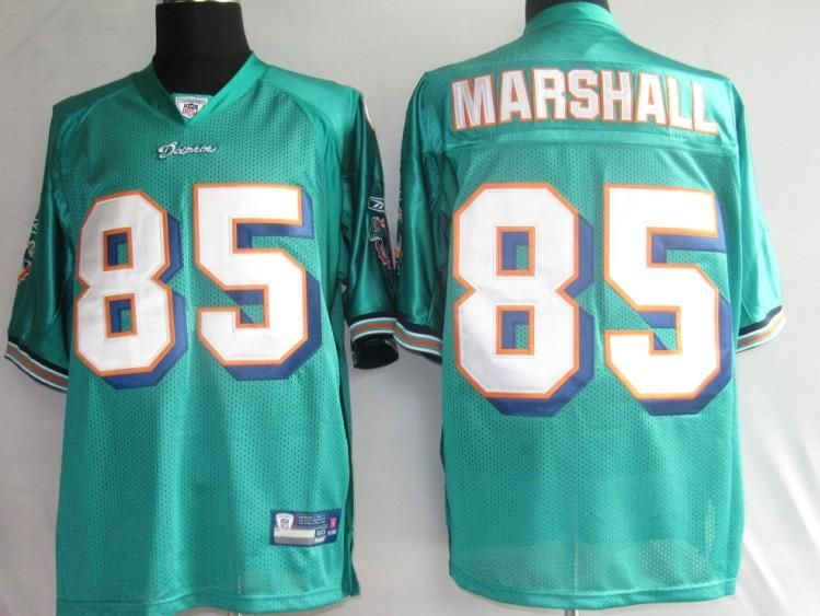 Marshall Brandon green jersey  $19.99  This jersey belongs to Marshall Brandon, Miami Dolphins #85  Color: green, Size: M, L, XL, XXL, XXXL   free shipping .hot seller for those nfl jersey with free shipping.