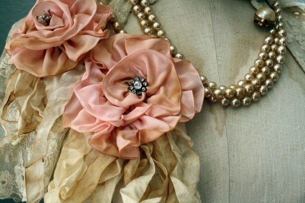 Beautiful handmade roses by meadowstreet.com