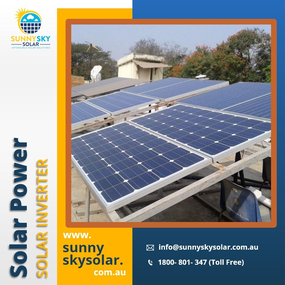 10kw Solar Panel System 10kw Solar Panel System In Brisbane Sunny Sky Solar In 2020 Solar Panels Solar Solar Power Inverter
