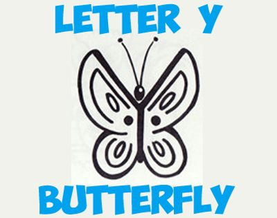 In this lesson you will learn how to draw a simple butterfly from the capital letter Y shape. Find out how to draw this with the following simple, step by step drawing lesson.