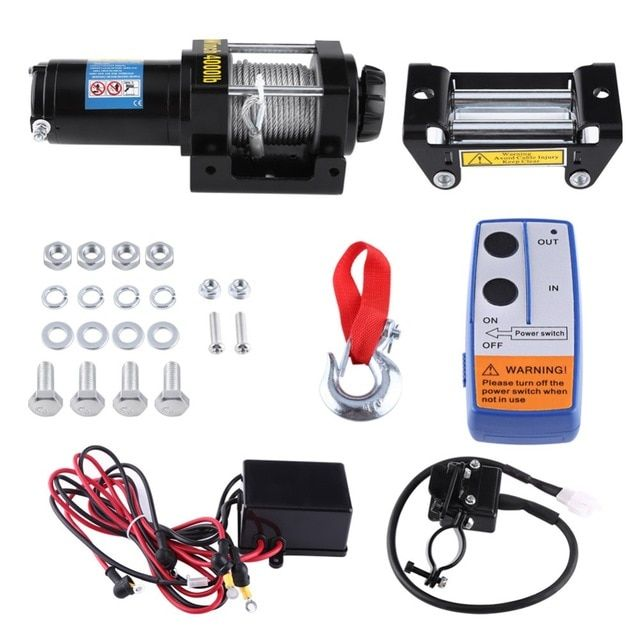 Pin by Best Pick on Tools | Electric winch, Atv trailers, Atv Harbor Freight Winch Wiring Diagram Hp Dc on
