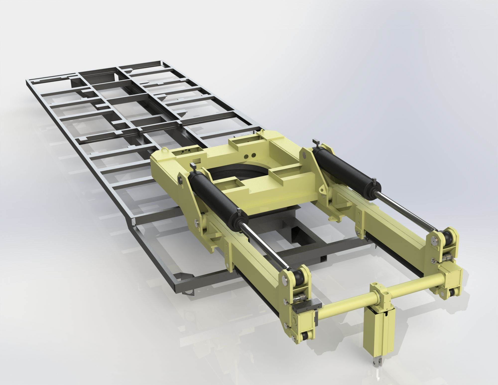Lifter Step Iges 3d Cad Model Grabcad Mechanical