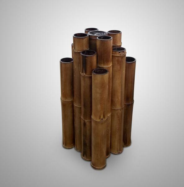 Sombrillero de bambu