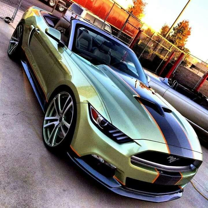 2015 Chip Foose Mustang... *Repin by Tburg*