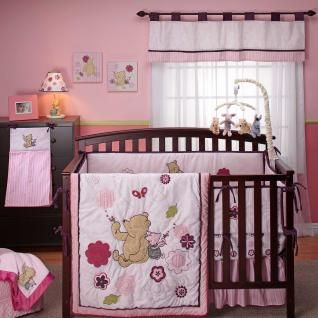 Baby Girl Nursery Update Building Our Story Winnie The Pooh Nursery Baby Girls Nursery Girl Nursery