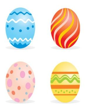 crafty bitch free printable colour easter eggs - Printable Easter Eggs