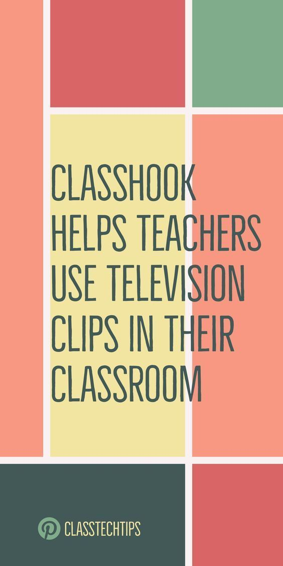 ClassHook Helps Teachers Use Television Clips in Their Classroom is part of Teacher help, Teaching technology, Classroom videos, Classroom tech, School technology, Teacher tech - Instead of searching through YouTube for perfect classroom television clips to start a lesson or illustrate a concept, ClassHook helps teachers