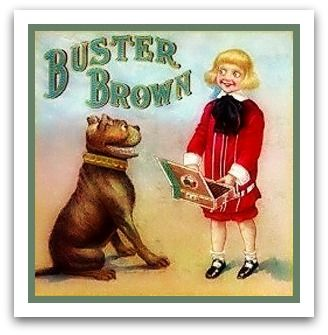 Buster Brown With Images Buster Brown Vintage Dog Brown Dog