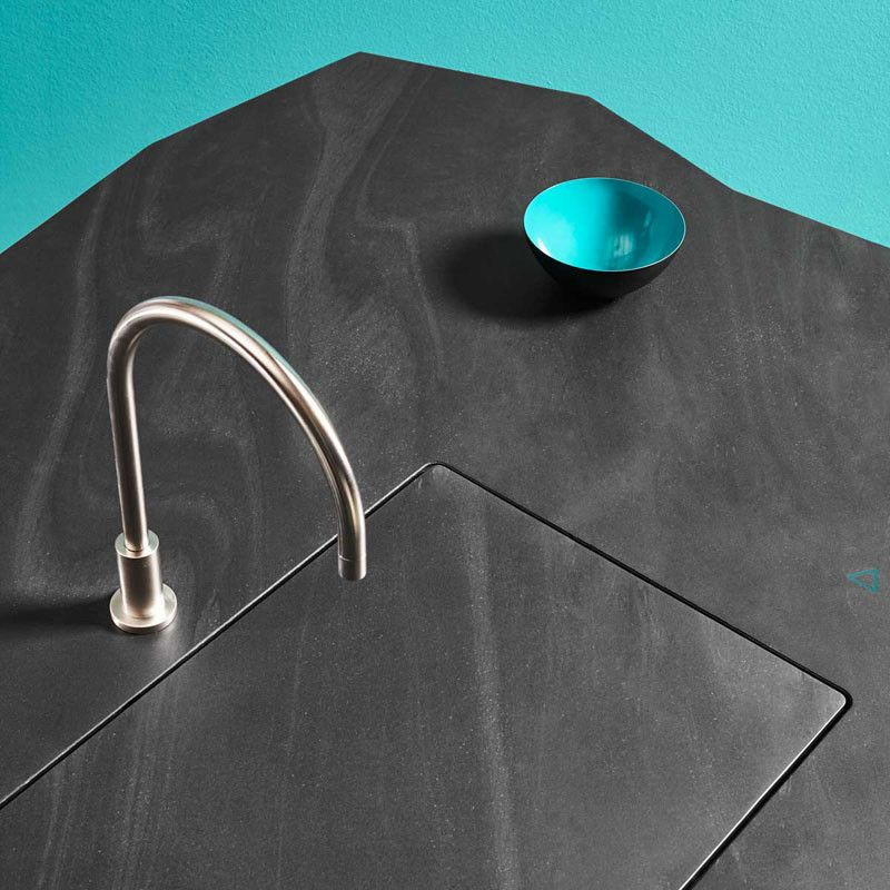 This New Kitchen Design Has A Disappearing Sink You Need To See
