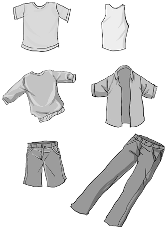 How to Draw Clothes (Part 1) Manga University Campus Store ...