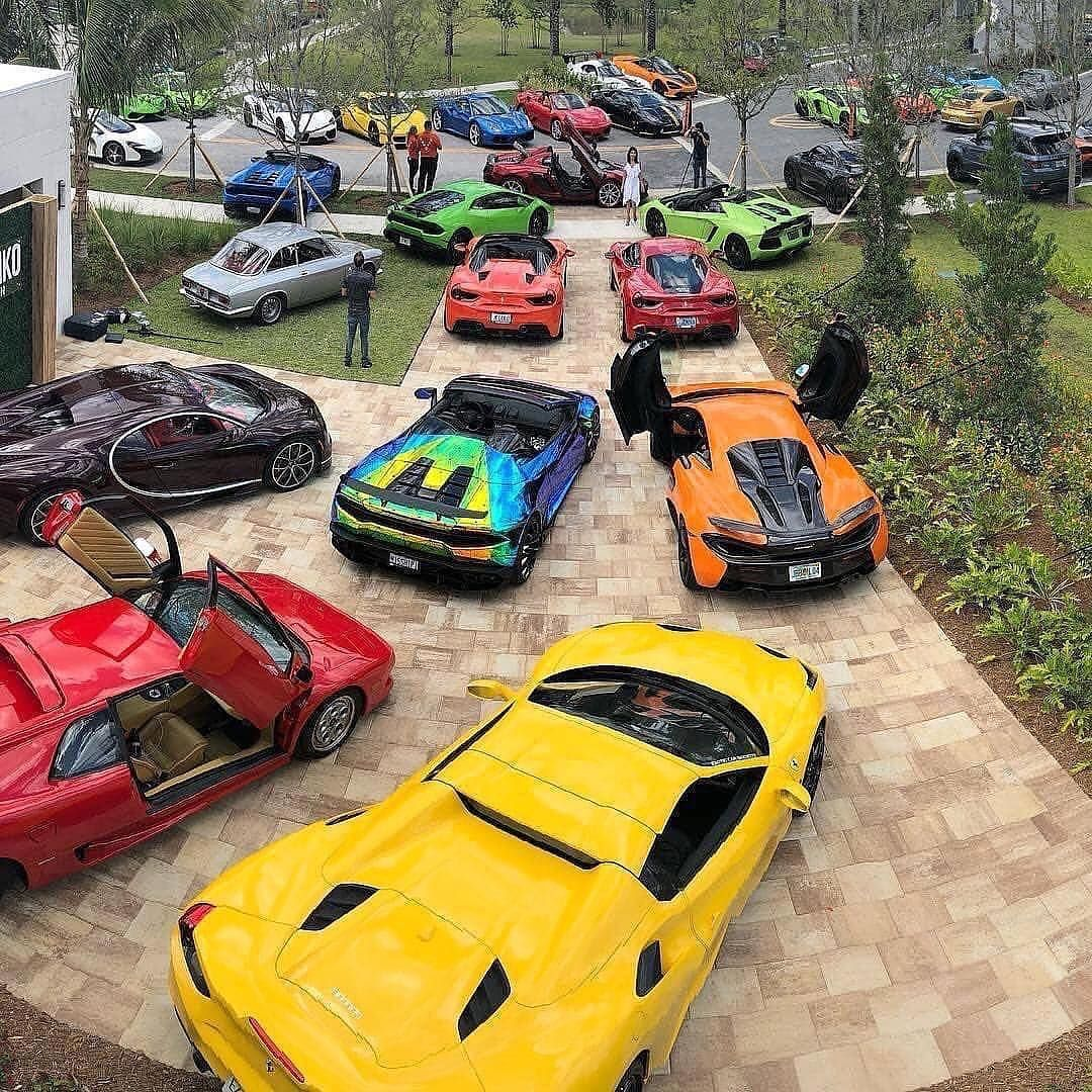 Chemical Guys On Instagram The Feeling You Have When You Wake Up Sunday Morning Pull The Rides Out Of The Garage And It S Super Cars Sports Cars Sports Car
