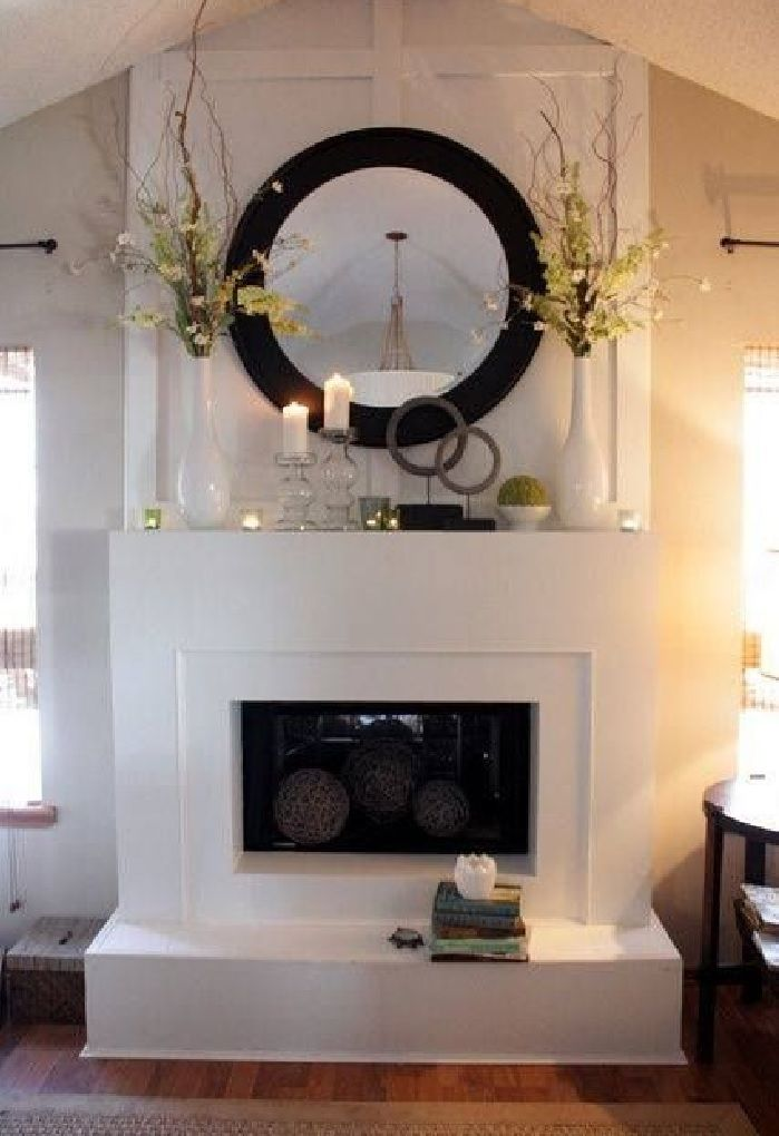 Simple But Effective Attention To Your Mantle Great Place