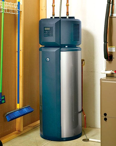 New Energy Star Efficient Residential Hot Water Heaters With Heat Pump