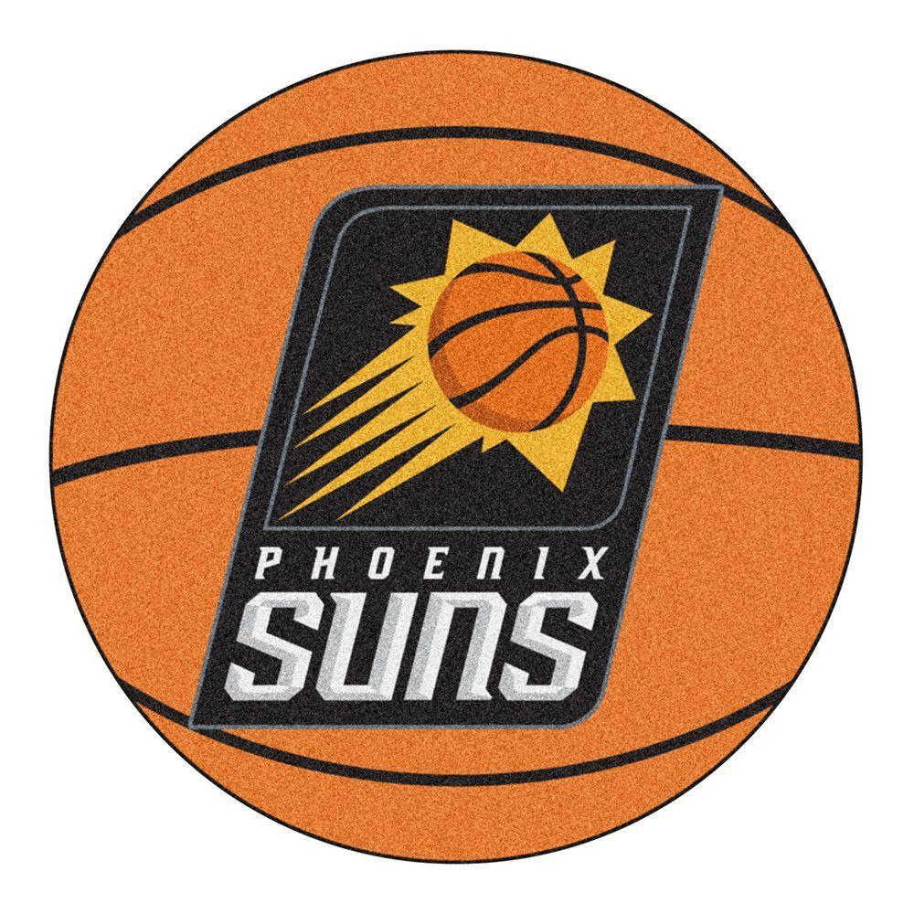 Phoenix Suns Basketball Mat (29 diameter) Phoenix suns