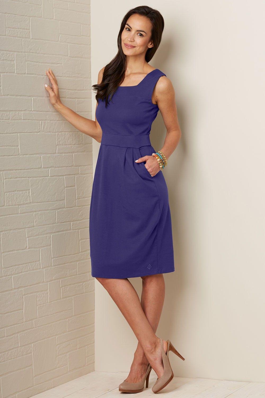 8eefe7cabcb Square Neck Organic Fair Trade Dress - Dresses - Women