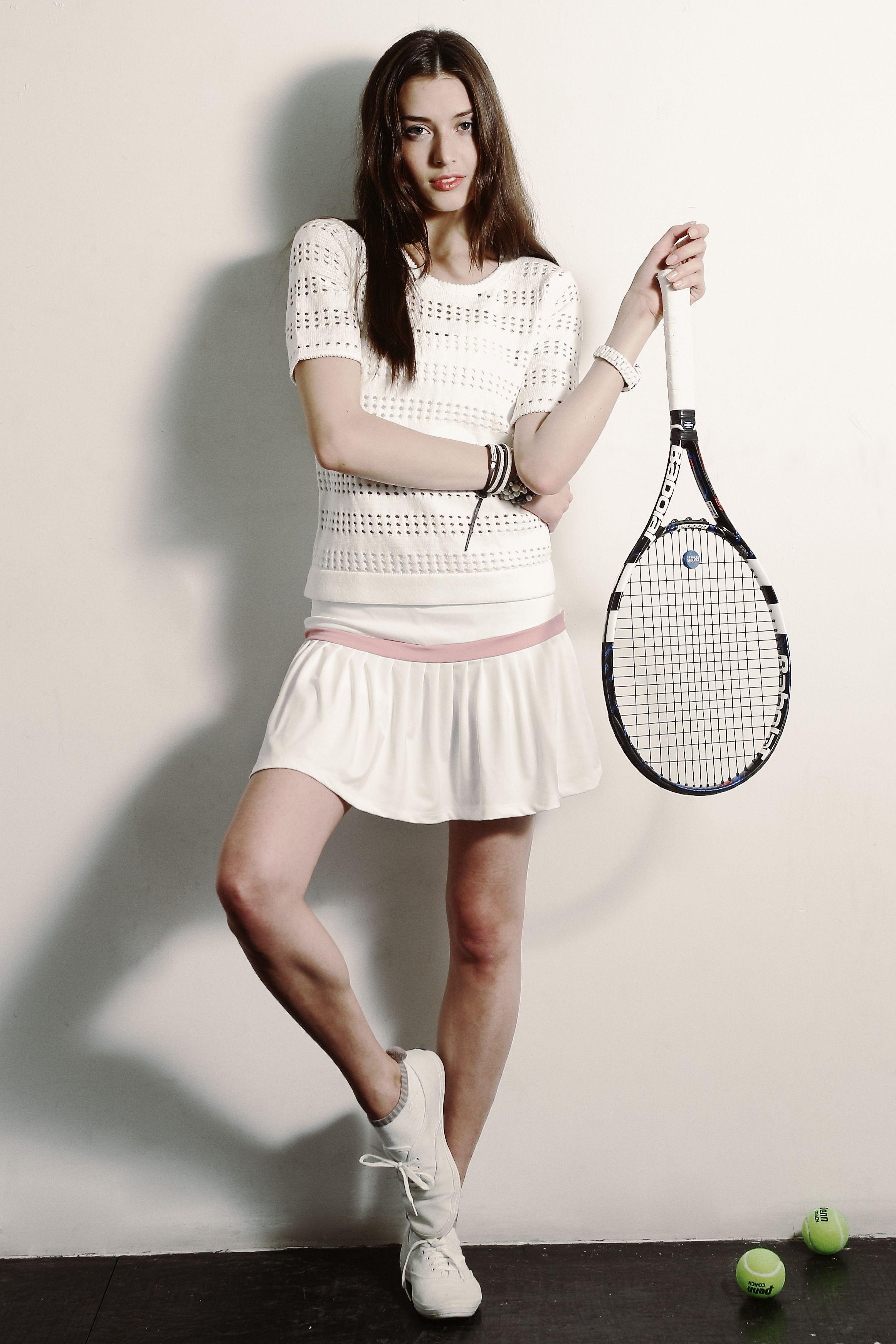 Tennis Inspired Fashion Style Glam Radar Tennis Fashion Tennis Clothes Tennis Dress