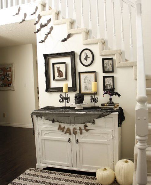 check out 33 elegant white halloween decor ideas white is not a traditional color for halloween decor but it looks so beautiful and sophisticated - Classy Halloween Decorations