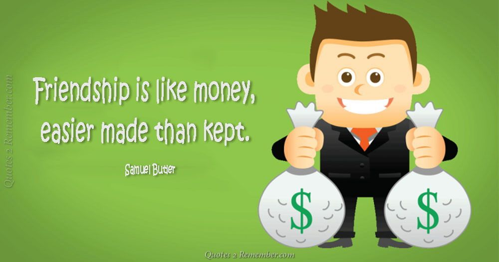 Quotes About Money And Friendship Glamorous Friendship Is Like Money…  Quotes 2 Remember  Friends