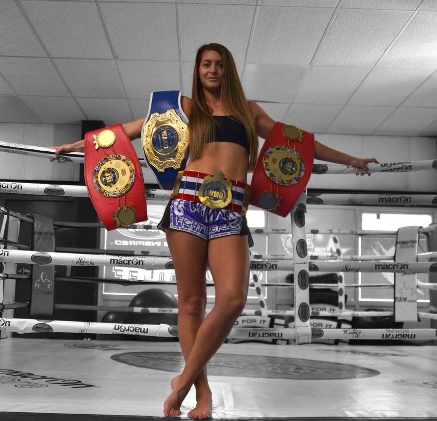 Amy Campbell #kickboxing #muay thai #champion #girl #boxing #ring #