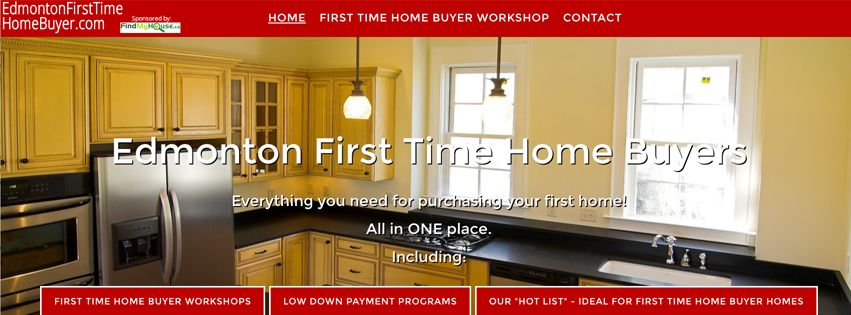 Edmonton first time homebuyers