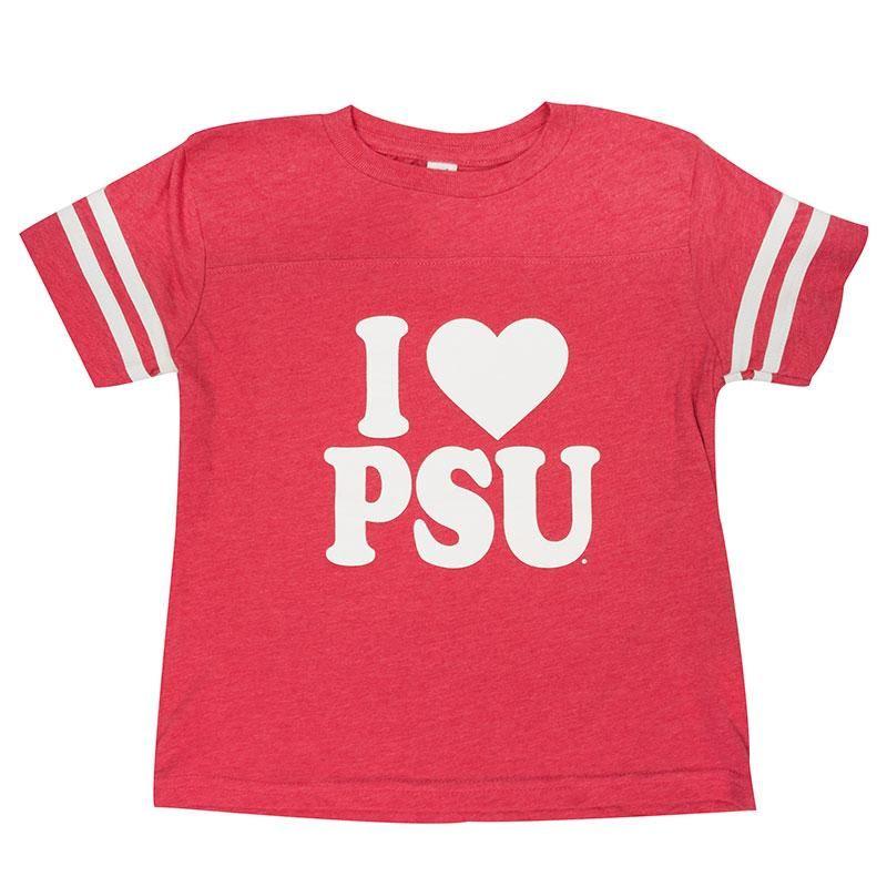Toddler Vintage Heart T-Shirt – Pink / 3T