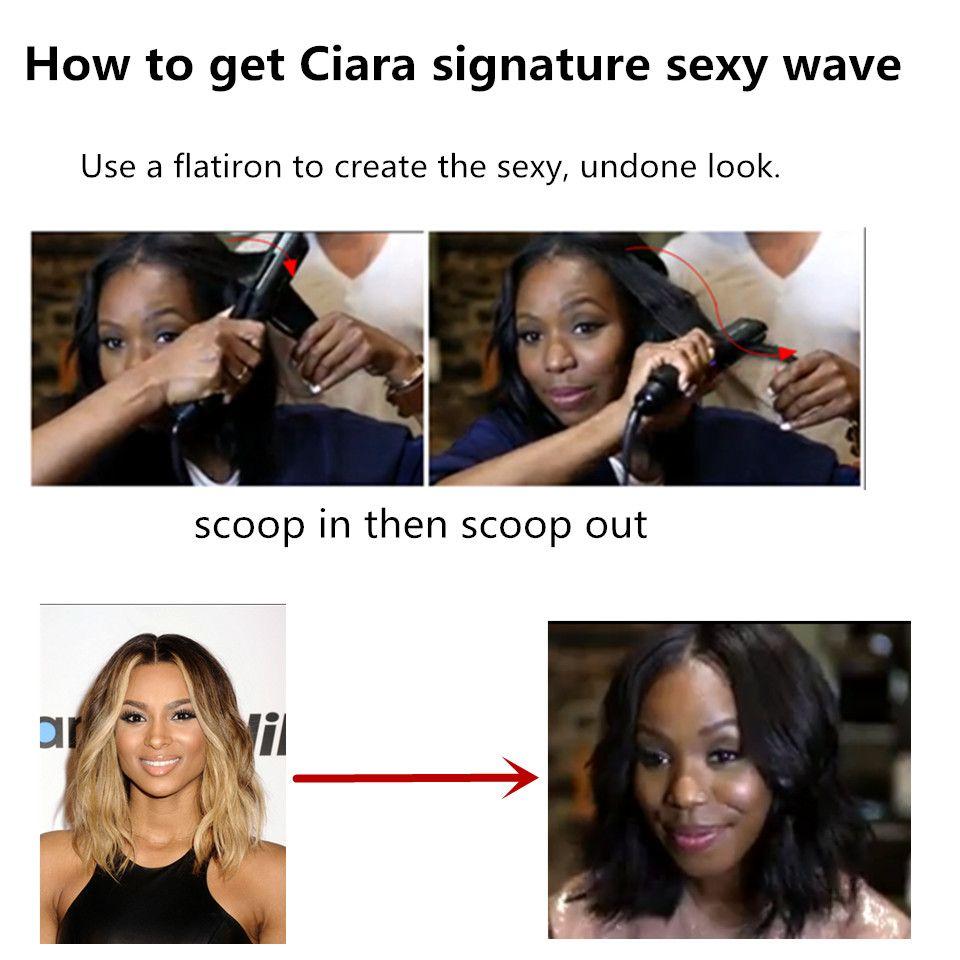 How to get ciara signature sexy wave hair tips u tutorial