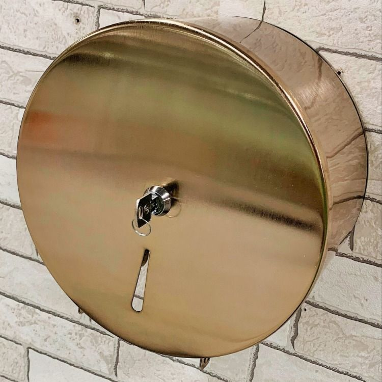 Commercial Toilet Tissue Dispenser Lock And Key Gold Polished Antique Brass Rose Paper Holder Kitchen Bathroom Accessories Free Shipping Round Mirror Bathroom Commercial Toilet Toilet Roll Dispenser