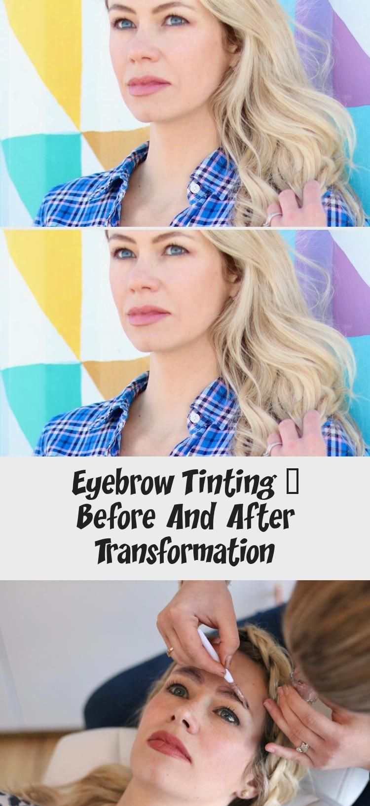 Eyebrow Tinting - Before And After Transformation in 2020 ...